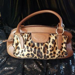 Dolce and Gabbana Animalier Leopard Shoulder Bag